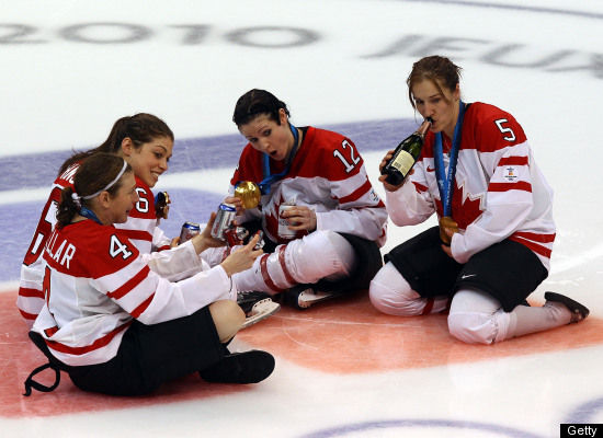 Hockey-celebration