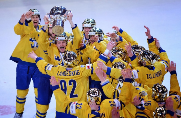 sweden gold helmets world championships gold