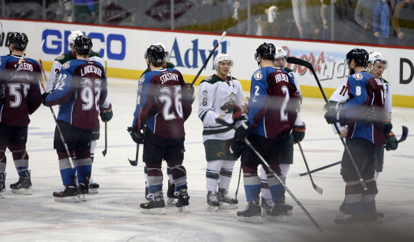 Colorado Avalanche vs Minnesota Wild, NHL 2014 Stanley Cup Playoffs