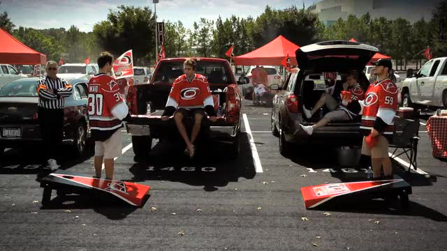 Image result for carolina hurricanes tailgate